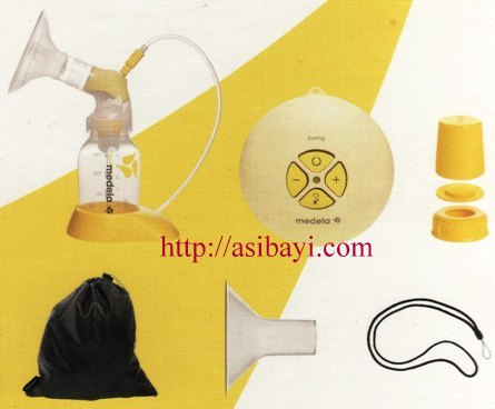 Kelengkapan Breastpump Medela Swing