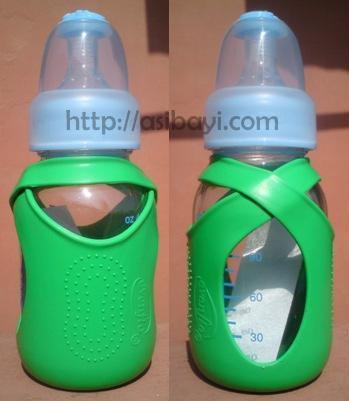kuku duckbill glass bottle with evenflo cozy cover