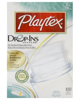 liner playtex drop ins 4oz