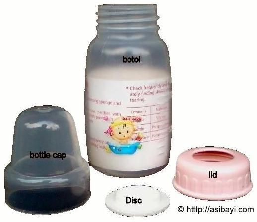 botol asi perah murah little baby