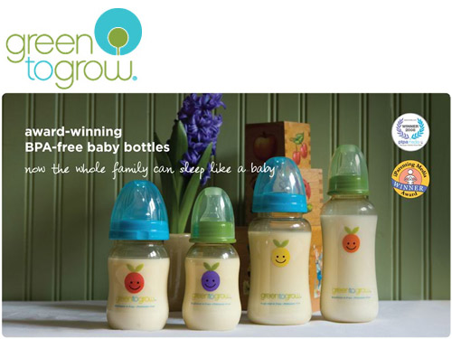 green to grow baby bottle