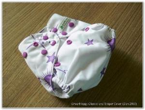 green nappy classic galaxy