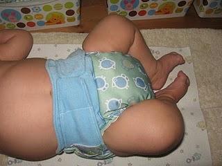 Grovia with 3m baby