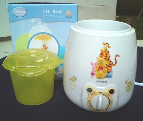 iq baby milk food warmer