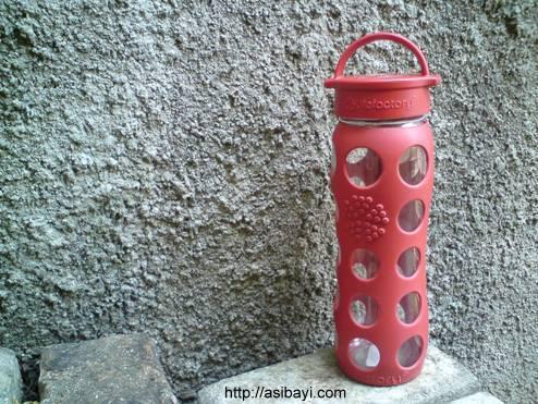 lifefactory beverage glass bottle